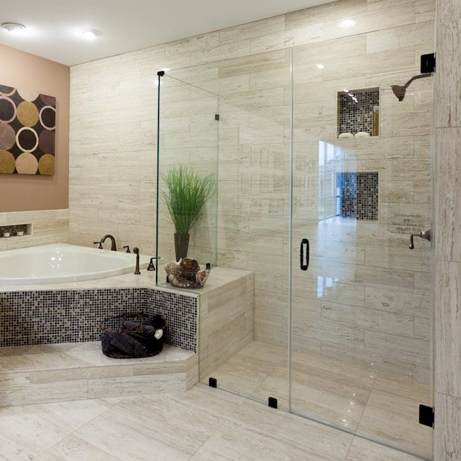 Limitless Elegant Bathroom Space in Fairfax County
