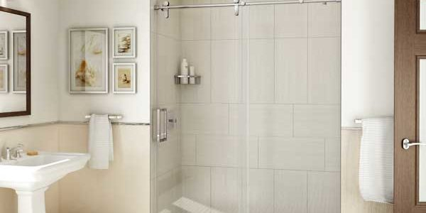 Glass Barn Door Shower Doors.Barn Style Frameless Shower Doors Abc Glass Mirror