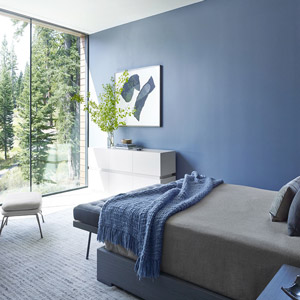 repaint a room to lift your spirits