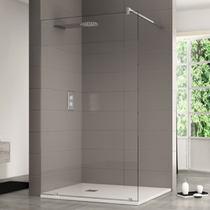 Custom walk in shower enclosures